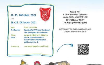FußballCamp für Kinder in Lembruch