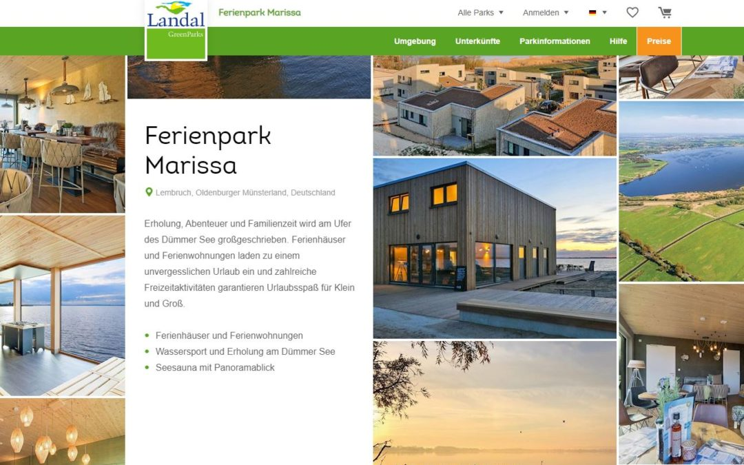 Landal Greenparks und Marissa Ferienpark